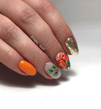 Nail-art-designs-with-flowers-12