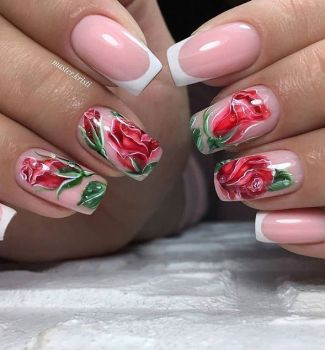 Nail-art-designs-with-flowers-15