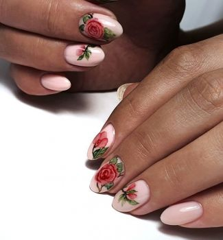 Nail-art-designs-with-flowers-6