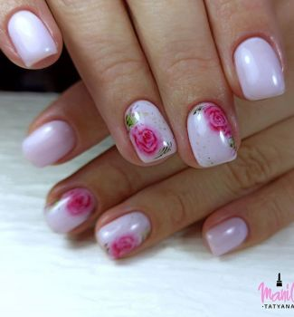 Nail-art-designs-with-flowers-7
