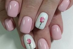 Nail-art-designs-with-flowers-17