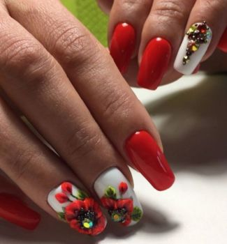 Nail-art-designs-with-flowers-41