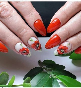 Nail-art-designs-with-flowers-46