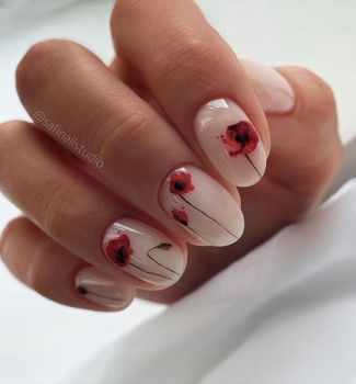 Nail-art-designs-with-flowers-48
