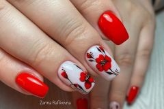 Nail-art-designs-with-flowers-49