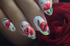 Nail-art-designs-with-flowers-55