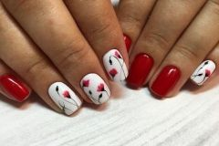 Nail-art-designs-with-flowers-60
