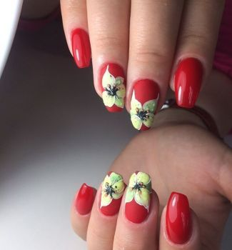 Nail-art-designs-with-flowers-65