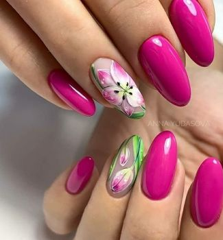 Nail-art-designs-with-flowers-70