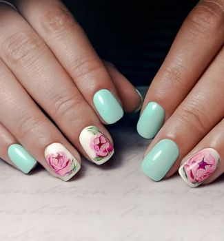 Nail-art-designs-with-flowers-82