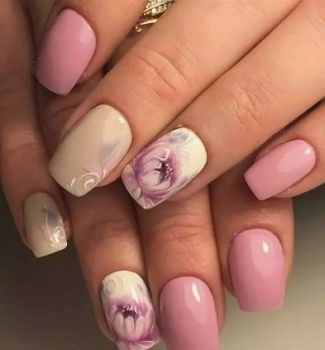 Nail-art-designs-with-flowers-86