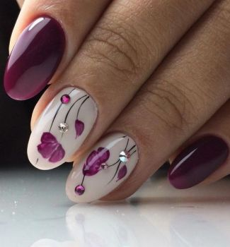 Nail-art-designs-with-flowers-100