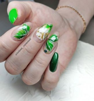 Nail-art-designs-with-flowers-93