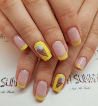 French-Nails-designs-7