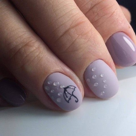 88 cute oval and round shape nails  nail art designs 2021